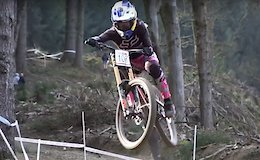 Video: Raw Action from the British National Downhill - Round 1 Rheola