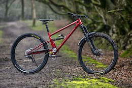 Starling Cycles' Prototype is a Steel High-Pivot 29er With 5 Speeds