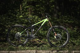 Bike Check: Phil Atwill's Cube Two15 HPA 29 - European Cup: Round 1 Maribor
