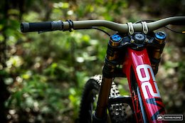 Bike Check: Aaron Gwin's Intense M29 - Maribor DH World Cup 2019