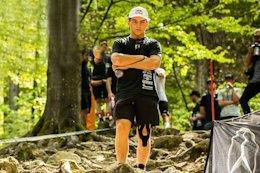 Video: Finn Iles' Pit Set Up & Track Walk - Maribor World Cup DH 2019