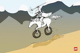 Actual Fantasy Downhill Riders - Sunday Comics with Taj Mihelich