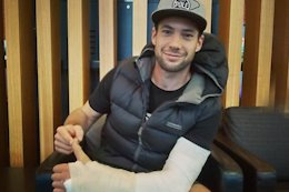 Joe Nation Out of EWS Madeira with Broken Arm