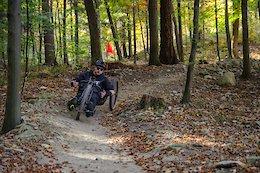 Video: Off-Road Hand Biking & Mulling Over Changing Seasons