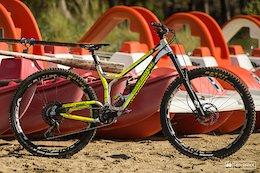 Bike Check: Sophie Riva's Ancillotti Scarab 29 - Superenduro Punta Ala 2019