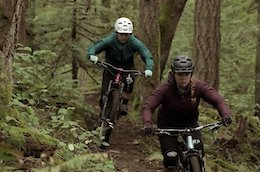 Video: Lucy Schick & Julia Long training for the EWS in B.C.