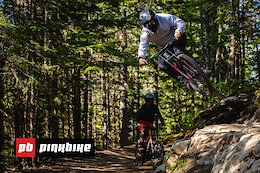Video: First Impressions of the 2019 Whistler Bike Park with Jason Lucas & Pete Matthews