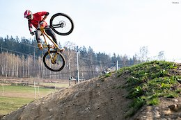 Video: 45 Seconds of Early Season Bike Park Shredding with Michal Prokop