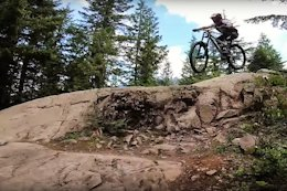 Video: 5 Different Lines Down Whistler Mountain Bike Park's Schleyer Rock Feature with Remy Metailler