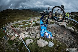 Qualifying Photo Epic: No Calm Before a Storm - Fort William DH World Cup 2019