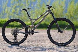 Caminade Shows Off Prototype Titanium Enduro Bike