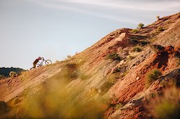 Afternoon light with Kyle Strait out in Utah