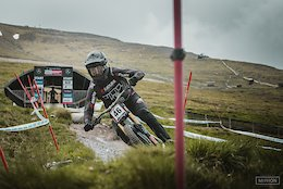 Francisco Pardal at the Fort William DH World Cup
