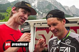 Video: Race Recap with Ben Cathro - Leogang DH World Cup 2019