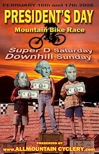 3rd Annual Downhill and Super D Bicycle Race: Mob'N'the Mojave