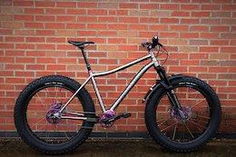 Smokestone Bikes' New Titanium Fatbike Frame