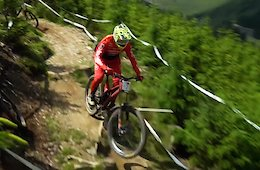 Video: Practice Highlights from the British National Downhill - Round 3 Rhyd-y-Felin