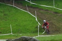 Video: Gee Atherton Wins Round 3 of the British National Downhill - Rhyd-Y-Felin