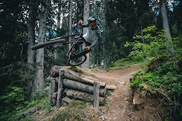 Video: Raw Laps at Morgins Bike Park with Vinny T
