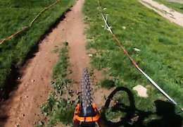 Video: Jesse Melamed POV Stage 1 - EWS Val di Fassa 2019