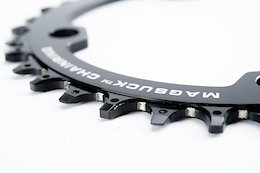 MagSuck's Chainring Uses Magnets to Prevent Dropped Chains