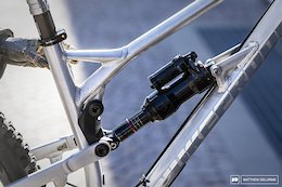 Bike Check: Sam Hill's Bare Aluminum Nukeproof Mega