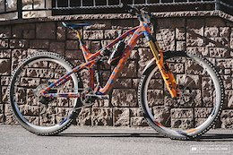 Bike Check: Gustav Wildhaber's Prototype 170mm Cube - EWS Val di Fassa 2019