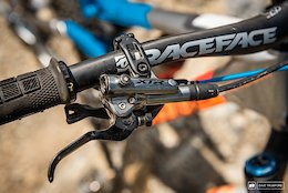 Greg Callaghan's Cube Stereo - XTR brake levers