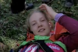 Ella Connolly Out of Les Orres EWS After Training Crash
