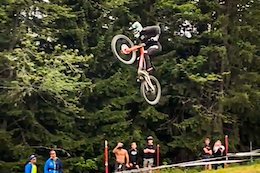Social Roundup: The Mega Booter, Too Much Scrub, & More - Les Gets World Cup DH 2019