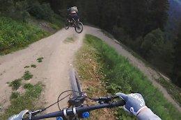 Video: Vinny T Shreds Morgins Bike Park