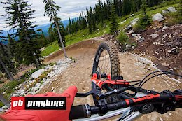 First Impressions: Bas Van Steenbergen & Jason Lucas Blast Big Berms & Jumps at Big White Bike Park
