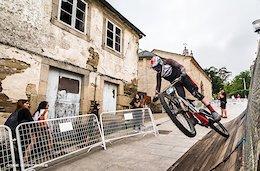 Race Report: A Wooden Roller Coaster Through the Streets for the Villa De Sarria Urban Downhill