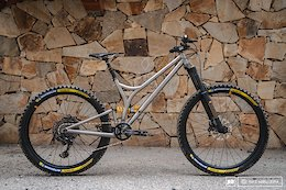 Bike Check: Caminade's Titanium 'Chill Easy' Trail/Enduro Bike