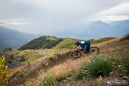Louis Jeandel had a pretty good start with the 1st spot on Stage one before the storm.