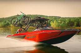 Video: Pinning it to the Trailhead in a Ski Boat in 'Wake-N-Shred'