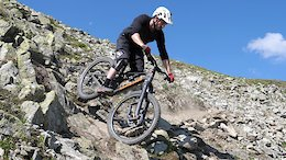 Video: Ali Clarkson Ignites The New Bomb Enduro Trail in Livigno
