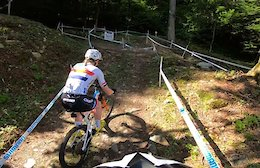 Video: Course Preview with Annie Last - Val di Sole World Cup XC 2019