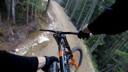 Video: Riding Whistler's Dirt Merchant Brakeless
