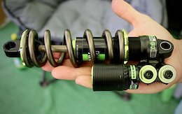 DVO's Prototype 4-Way Adjustable Coil-Sprung Shock - Crankworx Whistler 2019