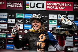 Interview: Marine Cabirou on Her First World Cup Win and Her Plans for the New Race Season
