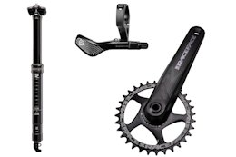 Race Face Launches Aeffect R Cranks, Dropper Post, & Lever