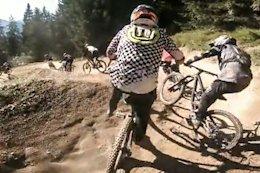 Video: Steve Peat's Mates Mass Start DH Race
