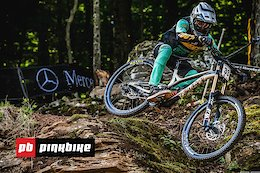Inside The Tape: Smashing Rock Gardens at the Snowshoe DH World Cup 2019