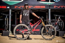 Chris Kovarik and his Intense M29 ready for the moon dust.