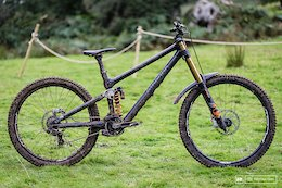 Bike Check: Gee Atherton's Prototype 9.0 Mullet Bike Used & Abused