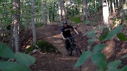Video: Building & Riding a Brand New Flow Trail in New York
