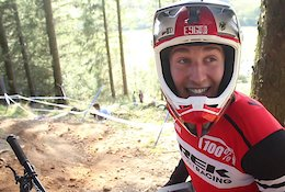 Video: Practice Highlights from the British National Downhill - Round 5 Ae Forest