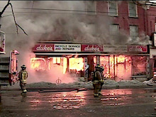 Historic Stretch Of Queen West Destroyed By Massive Fire