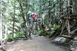 "Video: Little Shredder Sending Big Lines on 20"" Wheels in the Whistler Bike Park"